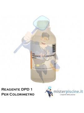 REAGENTE PER COLORIMETRO CON METODO DPD 1 - FLACONE DA 1 LT - PER LA REGOLAZIONE DEL CLORO IN PISCINA