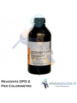 REAGENTE PER COLORIMETRO CON METODO DPD 2 - FLACONE DA 1 LT - PER LA REGOLAZIONE DEL CLORO IN PISCINA