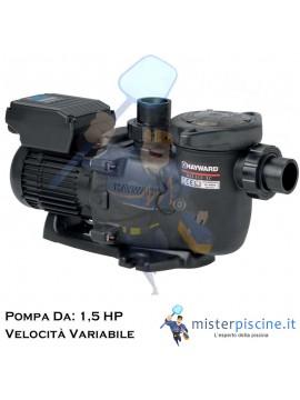 POMPA MAX FLO XL VSTD DI HAYWARD A VELOCITA' VARIABILE CON TIMER DIGITALE - VERSIONE DA - 1,5 HP