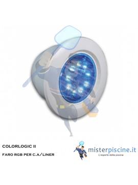 FARO A LED RGB COLORLOGIC II per C.A.  o  LINER  - Hayward