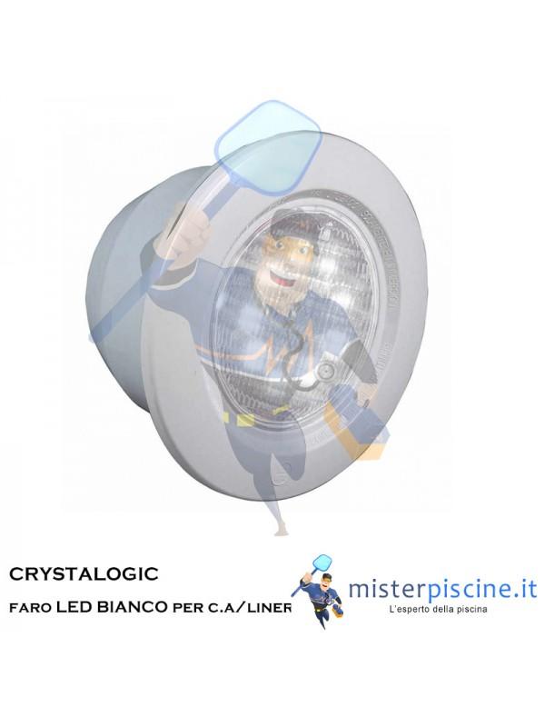 Crystalogic  HAYWARD faro led Bianco - per C.A. o LINER