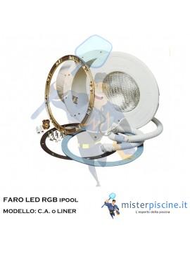 FARO IPOOL LED RGB - PER C.A o LINER
