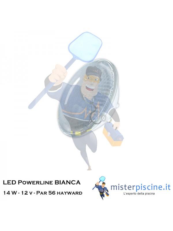 Lampada LED bianca Powerline 14 W | 12 V | Par 56 | Hayward