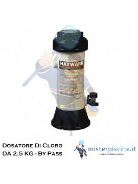 DOSATORE DI CLORO IN BY PASS DA 2,5 KG - DOSAGGIO AUTOMATICO PER PISCINE FINO A 95 MC