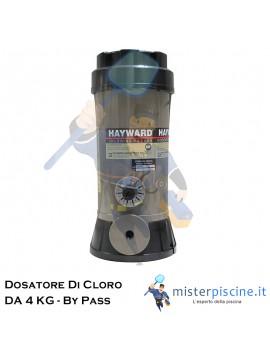 DOSATORE DI CLORO IN BY PASS DA 4 KG - DOSAGGIO AUTOMATICO PER PISCINE FINO A 150 MC