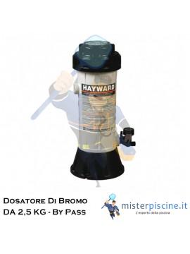 DOSATORE DI BROMO DA 2,5 KG - DOSAGGIO AUTOMATICO PER PISCINE FINO A 27 MC