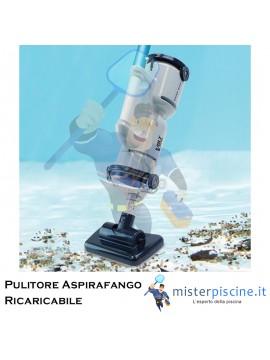 ASPIRAFANGO DOGFISH - FX4- ASPIRATORE ELETTRICO RICARICABILE, IDEALE PER PISCINE DI MEDIE DIMENSIONI