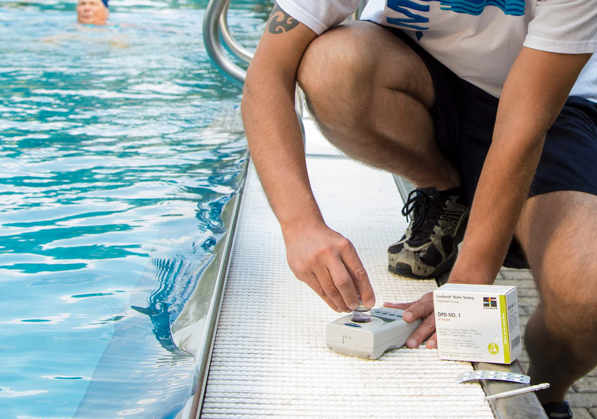 kit per analisi acque piscine
