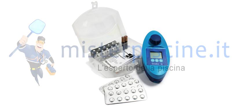 kit misurazione acqua in piscina