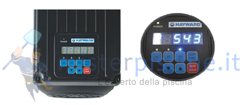 DISPLAY POMPA MAX FLO XL A VELOCITA' VARIABILE